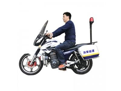 电动巡逻摩托车_72V魔影电动车