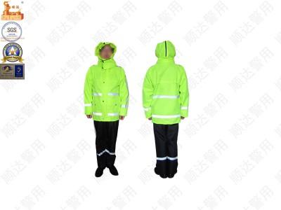 荧光雨衣-交通安全-防护装备