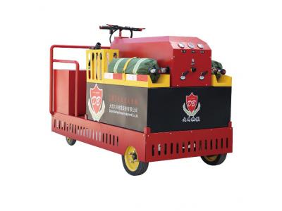 电动车式压缩空气泡沫灭火装置