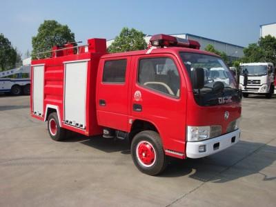 3吨水罐消防车东风牌小型消防车厂家订制