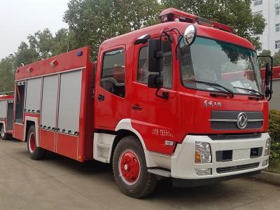 6吨水罐消防车东风牌6吨消防车厂家批发价格优惠