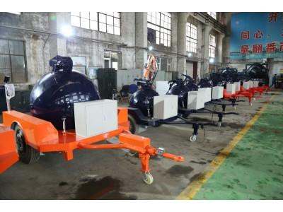 江机-江机设备球形防爆储运罐(拖车式)