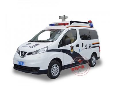 森源鸿马日产尼桑NV200警用巡逻车